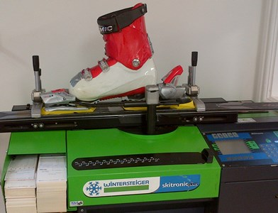 Wintersteiger Skitronic Plus Binding Testing Machine - reduced